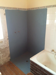 BEFORE TILING