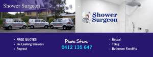 Shower Surgeon Adelaide